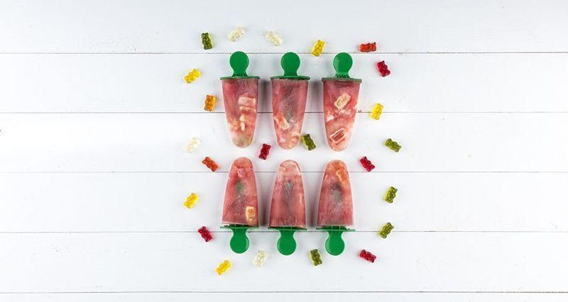 Γρανίτες καρπούζι με ζελεδάκια από τον Άκη Πετρετζίκη