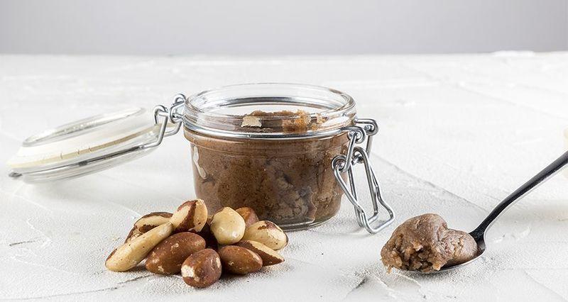 Βούτυρο από καρύδια Βραζιλίας σιρόπι σφενδάμου ηλιέλαιο