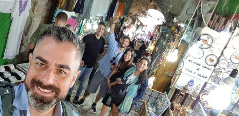 Το ταξίδι του Άκη Πετρετζίκη στο Ισραήλ