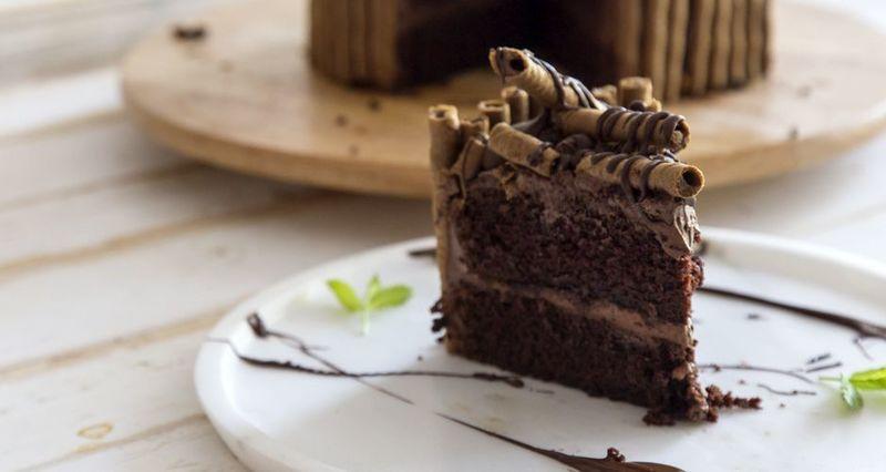 Τούρτα σοκολάτας από τον Άκη Πετρετζίκη