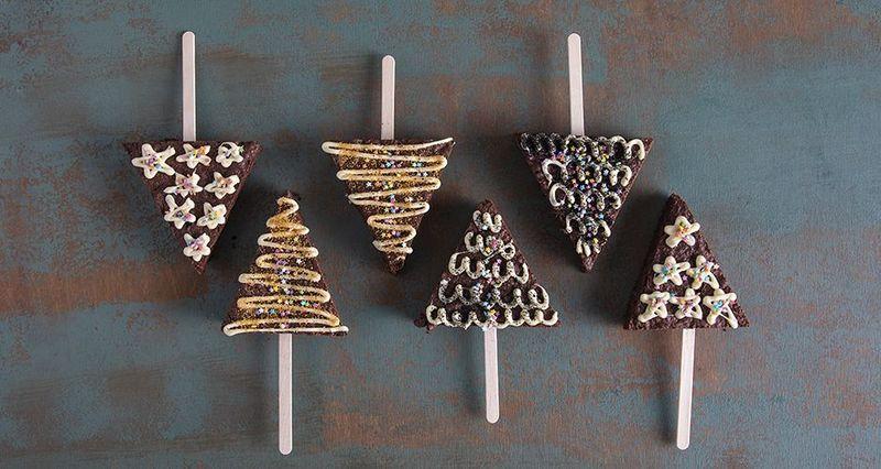 Brownies ελατάκια από τον Άκη Πετρετζίκη