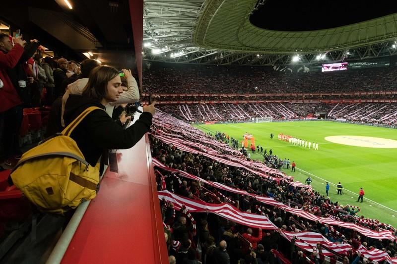 Ο Άκης Πετρετζίκης στο Bilbao με τη LaLiga