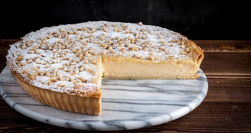 Torta della Nonna - Γλυκιά πίτα με ρικότα από τον Άκη Πετρετζίκη