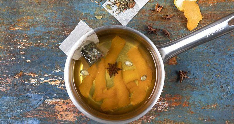 Τσάι με φλούδες από πορτοκάλι από τον Άκη Πετρετζίκη