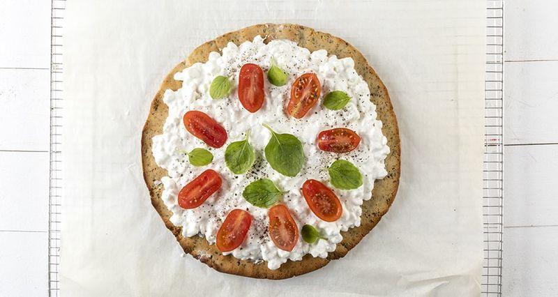 Ζύμη πίτσας με λιναρόσπορο