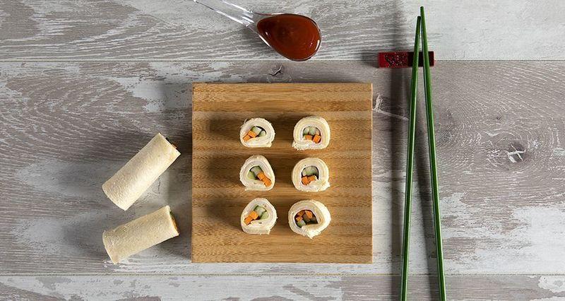 Τοστάκια αλά σούσι από τον Άκη Πετρετζίκη