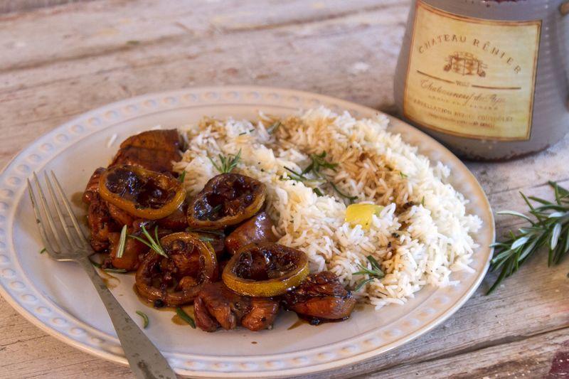 Κοτόπουλο με σόγια και λεμόνι από τον Άκη Πετερτζίκη