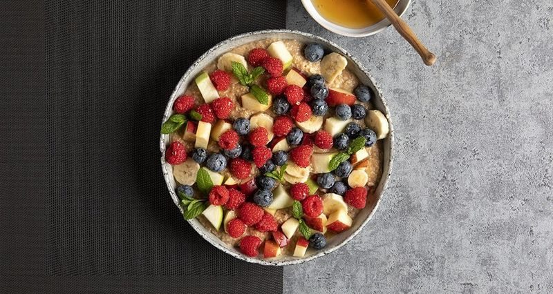 Porridge by the Greek chef Akis Petretzikis