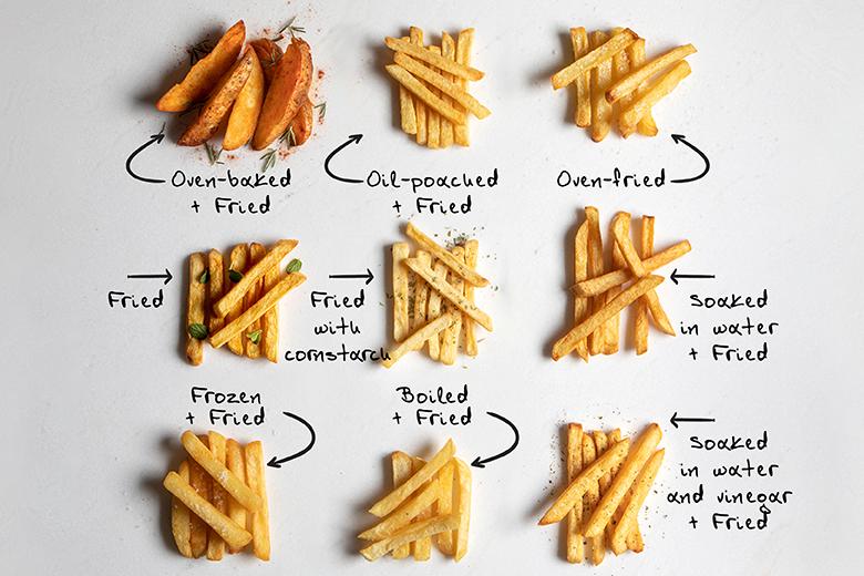French fries by the Greek chef Akis Petretzikis