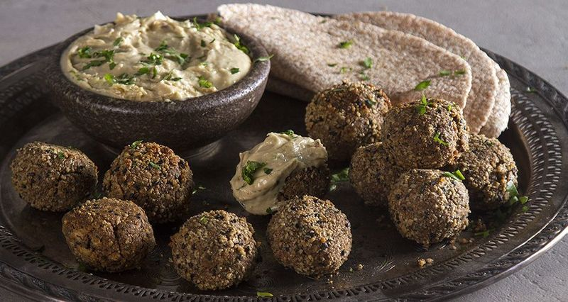 Falafel with Mixed Seeds by the Greek chef Akis Petretzikis