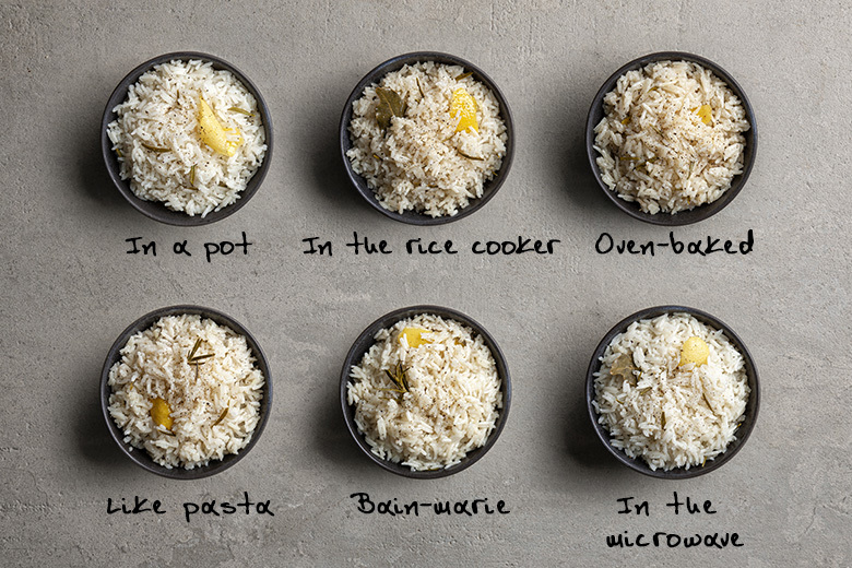 Cooking Crash Test: The best way to prepare rice