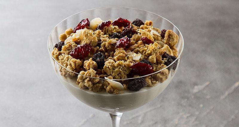 Quinoa granola from Akis Petretzikis