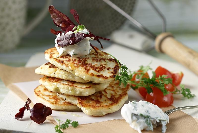 Pancakes Πατάτας