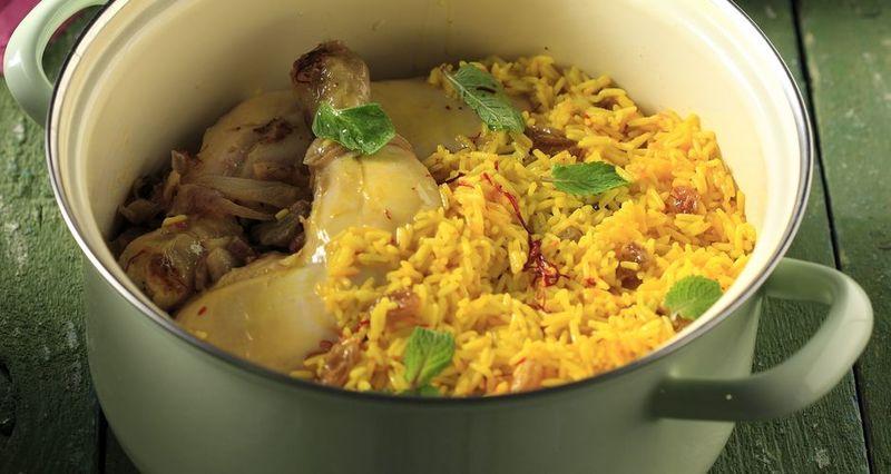 Κοτόπουλο Biryani