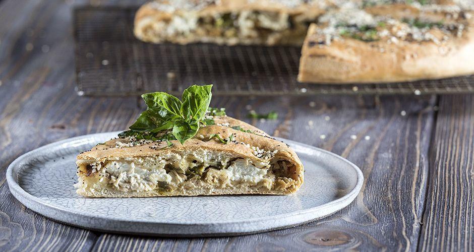 Asparagus and Chicken Pie