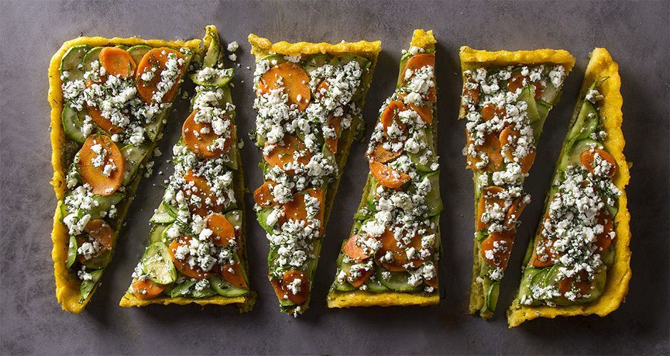 Polenta Tart with Vegetables
