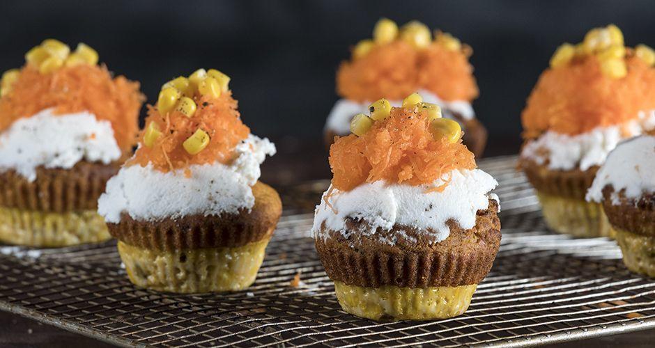 Gluten Free Savory Carrot Muffins