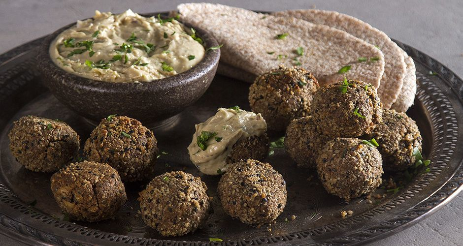 Falafel with Mixed Seeds