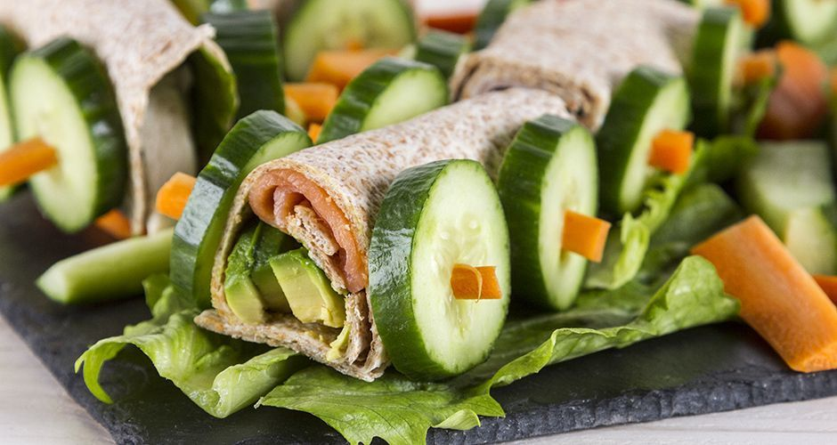 Whole wheat tortilla wraps