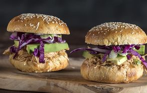 Recipe thumb akis petretzikis pull chicken burger site healthy