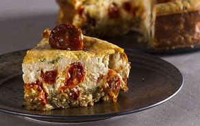 Recipe thumb akis petretzikis feta tomato cheesecake site healthy