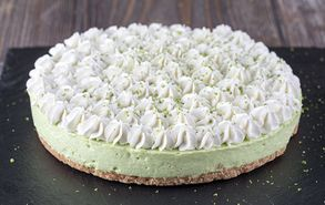 Recipe thumb cheesecake lime avocado