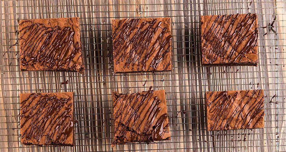 Vegan marshmallow brownies
