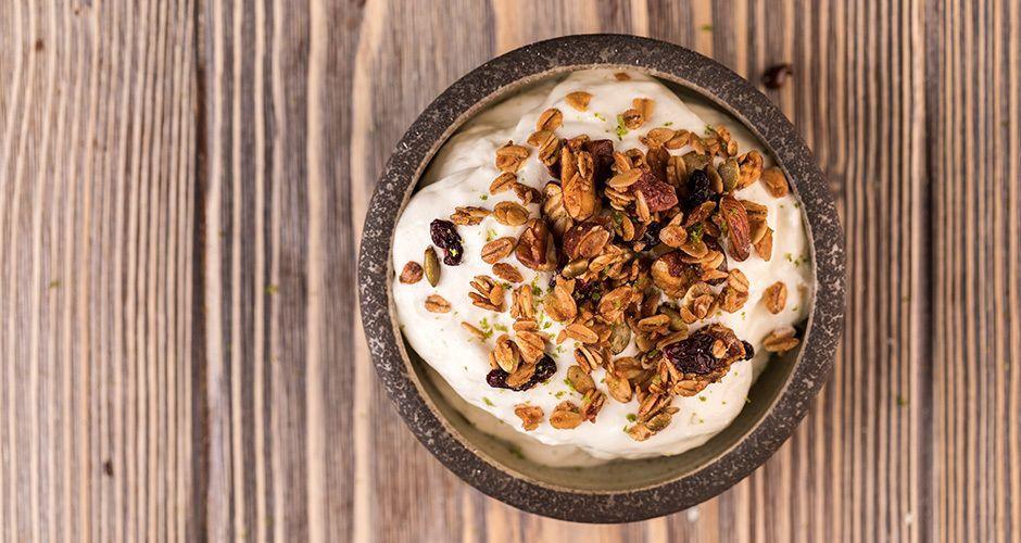 Greek Yogurt mousse