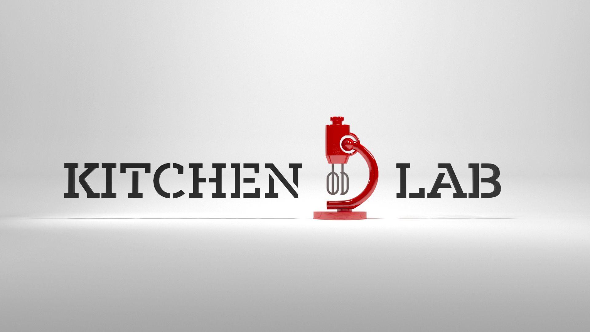 Logo kitchen lab white