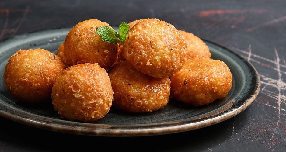 Cheese croquettes with 2 ingredients