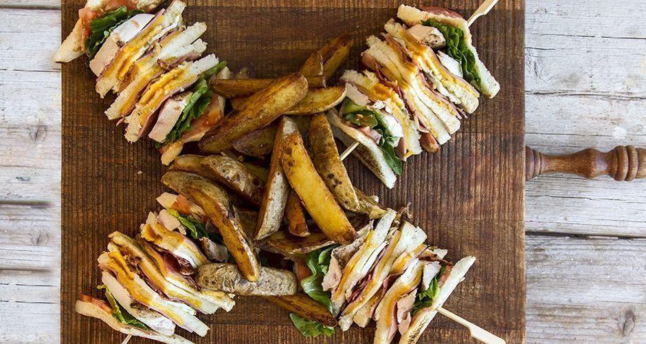 Recipe main akis petretzikis club sandwich