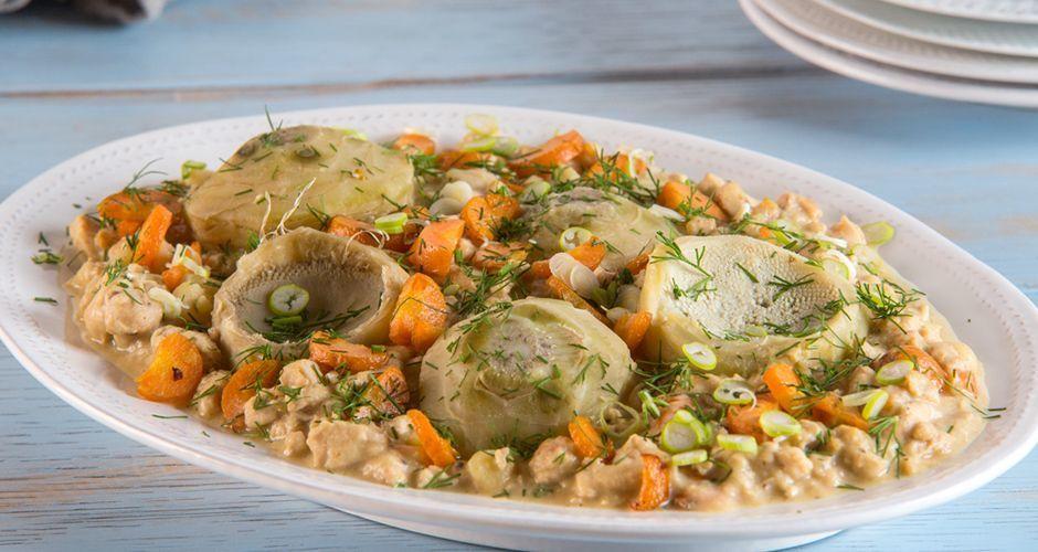 Chicken and vegetable ragu