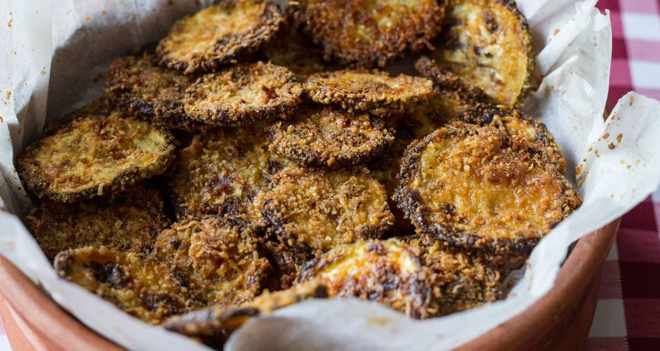 Baked Zucchini and Parmesan Rounds