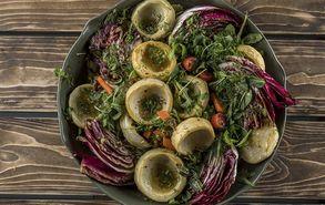 Recipe thumb salata me agkinares