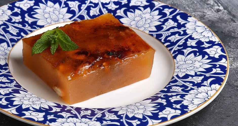Greek halvah jelly – Halvas Farsalon