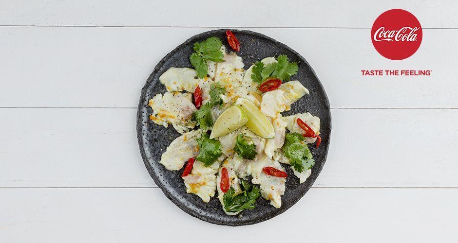 Recipe main ceviche lavraki