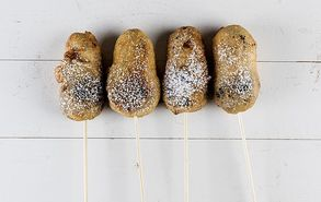 Recipe thumb on a stick deep fried candy site