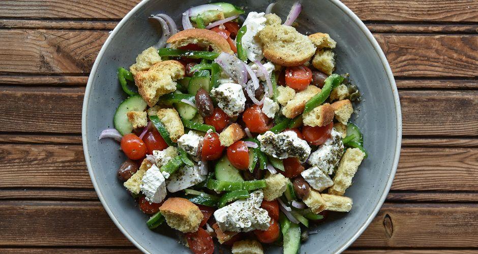 Greek Salad Recipe Akis
