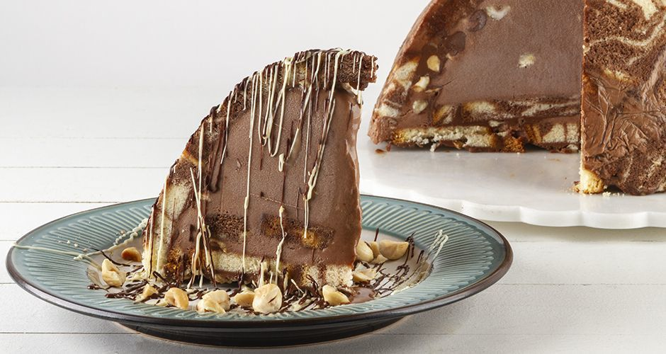 Chocolate Praline Ice Cream Torte