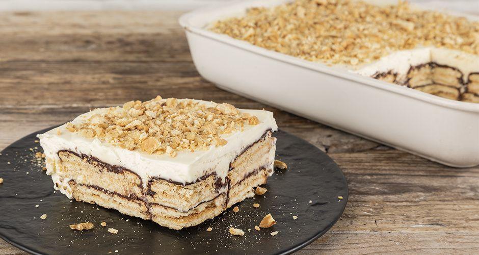 10-minute chocolate dessert