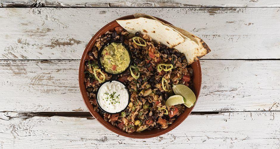 Μεξικάνικο με μαύρα φασόλια