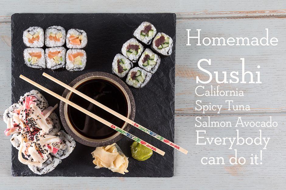 Homemade sushi thumb
