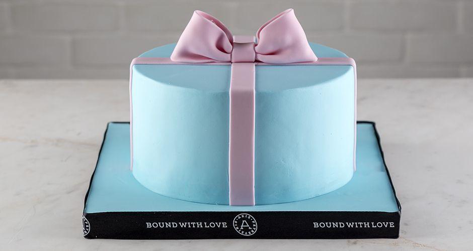 Terrific Present Cake Recipe Akis Petretzikis Funny Birthday Cards Online Chimdamsfinfo