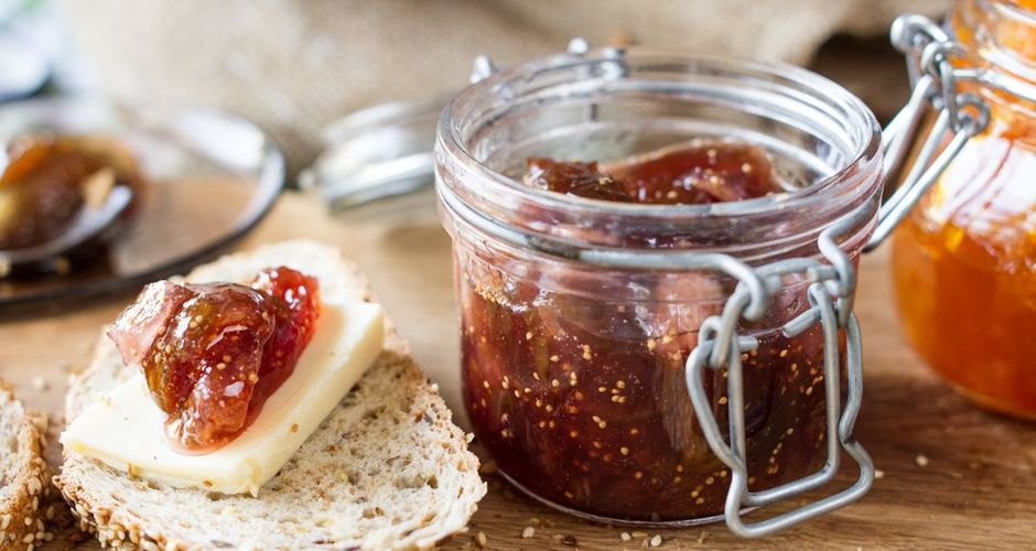 Fig and pear jam