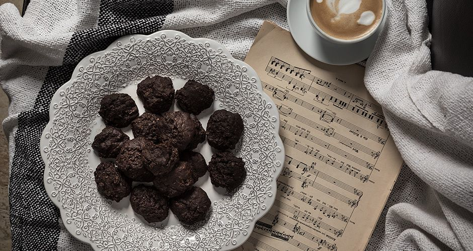 No-bake coffee cookies