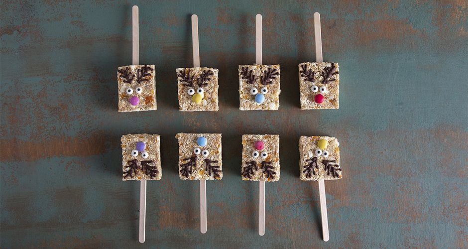 Reindeer cereal bars
