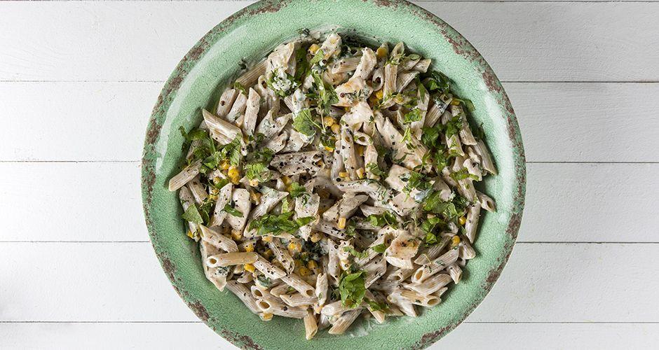 Healthy chicken penne pasta (High protein)