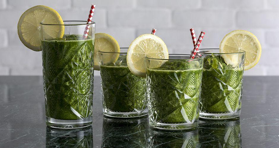 Kale – lettuce juice