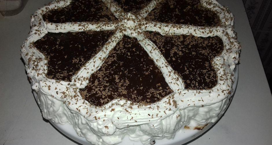 Νηστίσιμη τούρτα σοκολάτα
