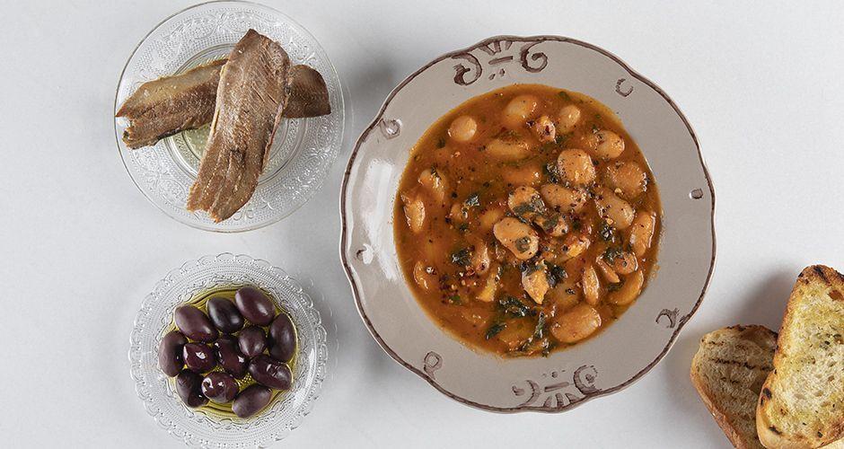 Pressure-cooker giant beans - Gigantes